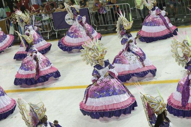 FLORIANOPOLIS, SC, BRASIL, 10/02/2018: Carnaval 2018 - Protegidos da Princesa (Foto: CRISTIANO ESTRELA / DC)