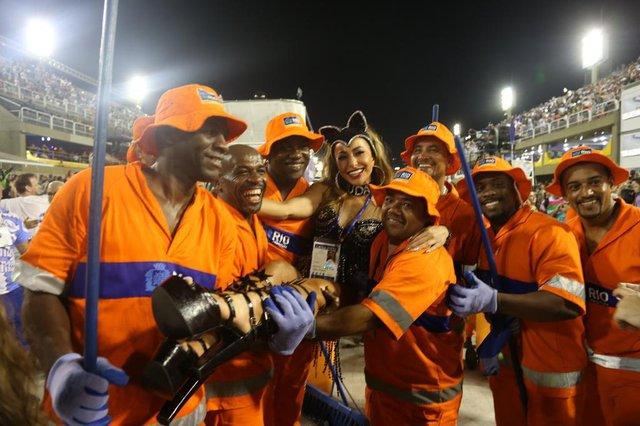Musas da segunda noite de Carnaval do Rio 2018. Na foto, Sabrina Sato.Indexador: Picasa