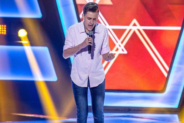 Luiz Henrique Schultz, gaúcho, participa do The Voice Kids