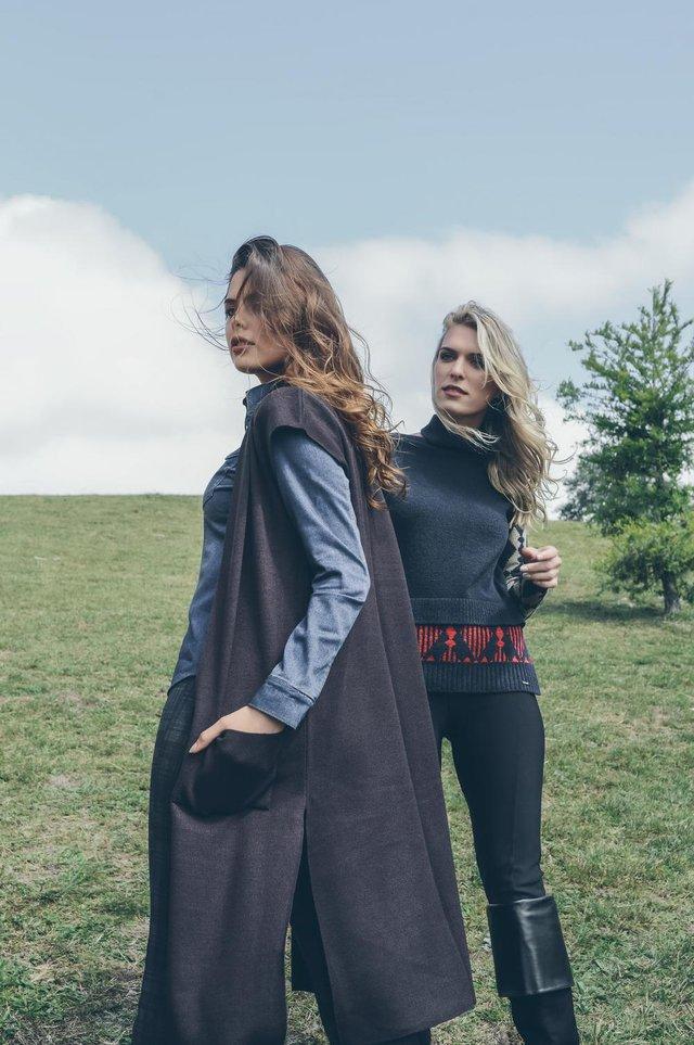 Coleção Outono Inverno 2018 da Malharia Ravanello