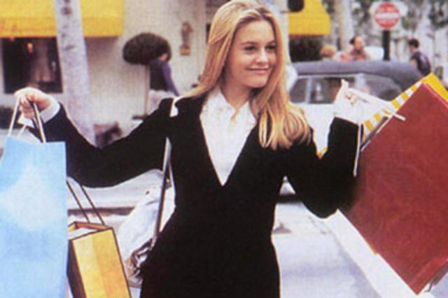 Filme As Patricinhas de Beverly Hills.De Amy Heckerling. Com Alicia Silverstone.