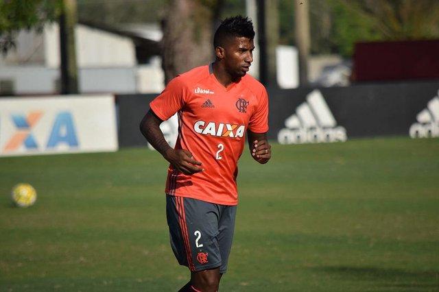 Rodinei, lateral-direito do Flamengo