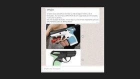 Prova Real, NSC Comunicação, fact-checking, arma, micropistola (Reprodução/Reprodução / Reprodução)