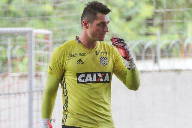 FLORIANÓPOLIS, SC, BRASIL, 10/01/2018: Apresentação de novos jogadores no Figueirense. Na foto:  Denis (Foto: CRISTIANO ESTRELA / DIÁRIO CATARINENSE)