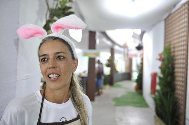 Blumenau - SC - Brasil - 09032018 - Osterdorf em Blumenau e Osterfest em Pomerode eventos de Páscoa na região. Carla Farias