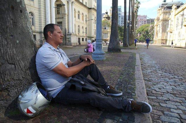 PORTOALEGRE-RS-BR 14.03.2018Desemprego na Grande Porto Alegre.Sine para tentar encontrar trabalhadores que estão desempregados há bastante tempo e buscam recolocação no mercado.José Carlos dos Santos.FOTÓGRAFO: TADEU VILANI AGÊNCIARBS - Editoria Notícias