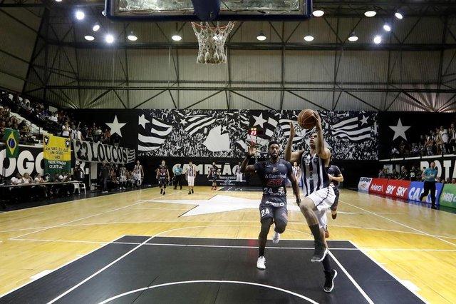 Botafogo x Caxias, pelo NBB em Geberal Severiano. 08 de Marco de 2018, Rio de Janeiro, RJ, Brasil. Foto: Satiro Sodré/SSPress/Botafogo.
