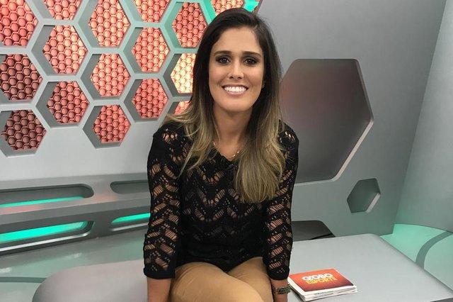 Apresentadora do Globo Esporte RS Kelly Costa
