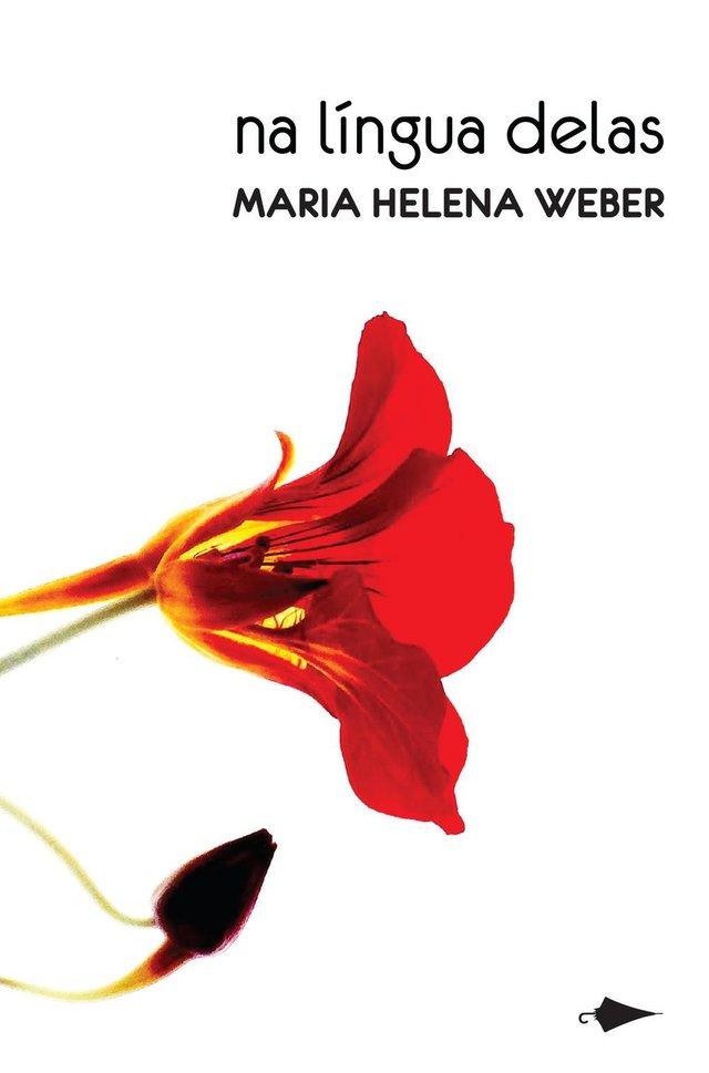 Capa do livro de contos Na Língua Delas, de Maria Helena Weber