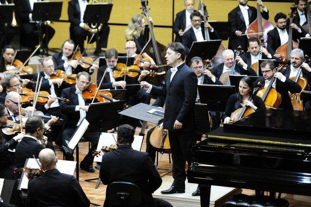 PORTO ALEGRE,RS,BRASIL.2018-03-24.Conserto inaugural da Casa da Música da Ospa no Centro Administrativo Fernando Ferrari.(RONALDO BERNARDI/AGENCIA RBS).