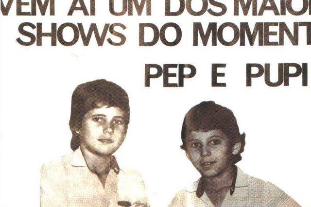 edson & hudson, quando usavam o pseudônimo pepi e pupi.