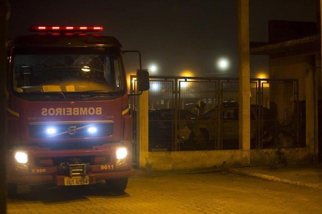 Incêndio na Penitenciária Estadual de Rio Grande. (Fotos: Lucia Maciel/Especial)