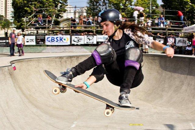 Yndiara Asp , skate