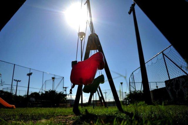JOINVILLE,SC,BRASIL,12-04-2018.Parquinhos em Joinville.Parque da cidade.(Foto:Salmo Duarte/A Notícia)