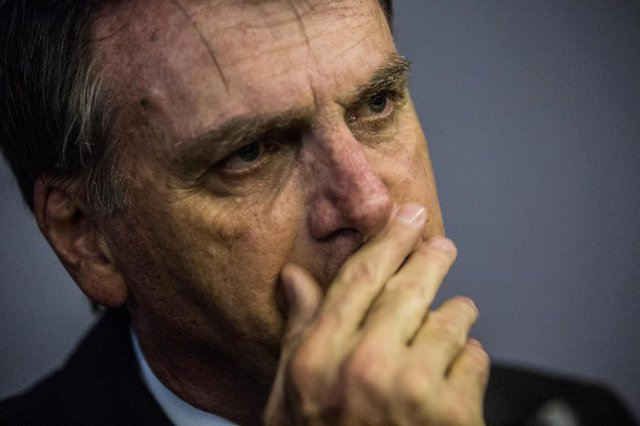 BRASÍLIA, SC, BRASIL - 10/04/2018Jair Messias Bolsonaro, deputado federal e candidato à presidência