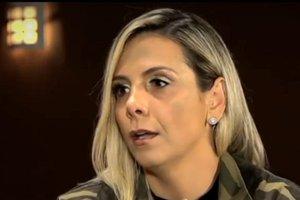 Carla Perez revelou que sua saída do É o Tchan foi motivada por agressão (Record/Reprodução)