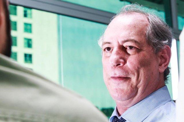 ITAJAI, SC, BRASIL, 11.04.2018: Ciro Gomes, pré candidato em almoço/coletiva de imprensa. (Foto: Diorgenes Pandini/Diário Catarinense)Indexador: Diorgenes Pandini