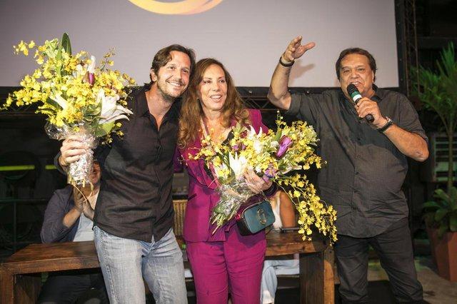 Vladimir Brichta, Arlete Salles e o diretor Dennis Carvalho
