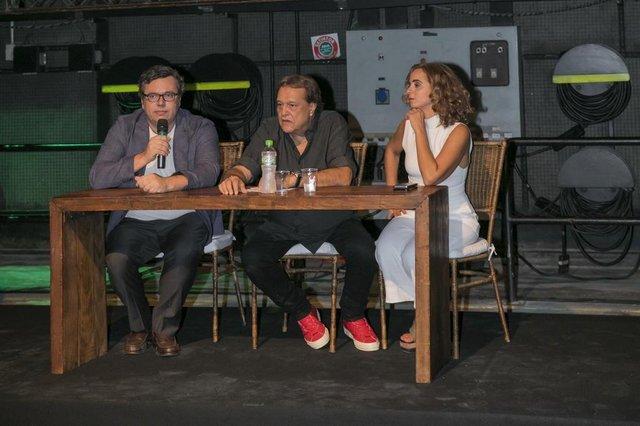 João Emanuel Carneiro, Dennis Carvalho e Maria De Médicis