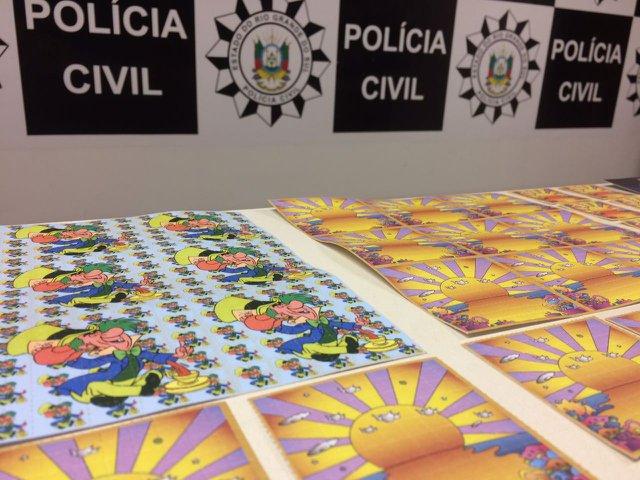 Polícia Civil anuncia maior apreensão de LSD do RS