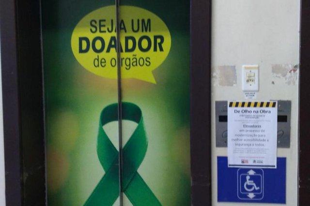 Elevadores do São josé quebrados