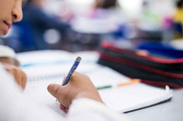 Fotos para matéria sobre resultados da Avaliação Nacional de Alfabetização em Blumenau
