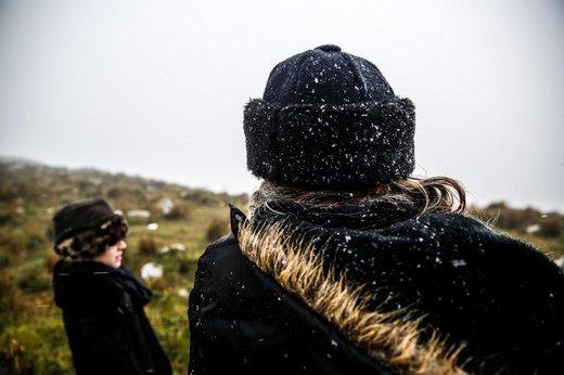 Neve registrada em 9 junho do ano passado em Urupema (DC/Diorgenes Pandini)