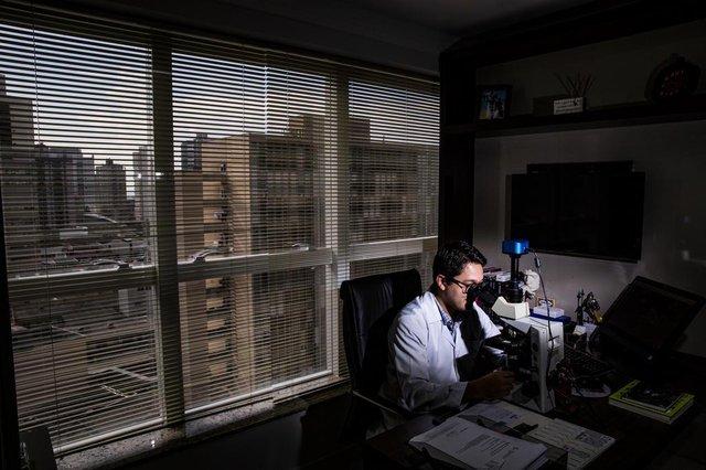 ITAJAI, SC, BRASIL, 29.04.2018: NOS. Novas formas de tratamentos a doenças como câncer em Itajaí.  (Foto: Diorgenes Pandini/Diario Catarinense)Indexador: Diorgenes Pandini
