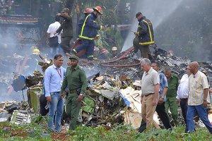 Boieng 737 caiu em Havana, próximo ao Aeroporto Internacional José Martí (AFP/Adalberto Roque)