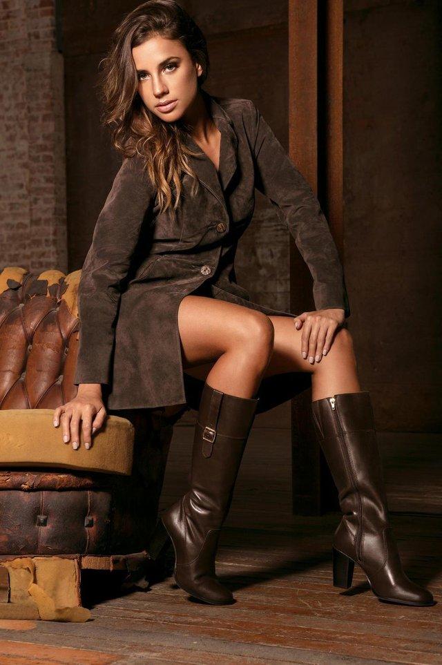 Editorial da Black Bull, de Gramado, com a modelo Bruna Schwartz
