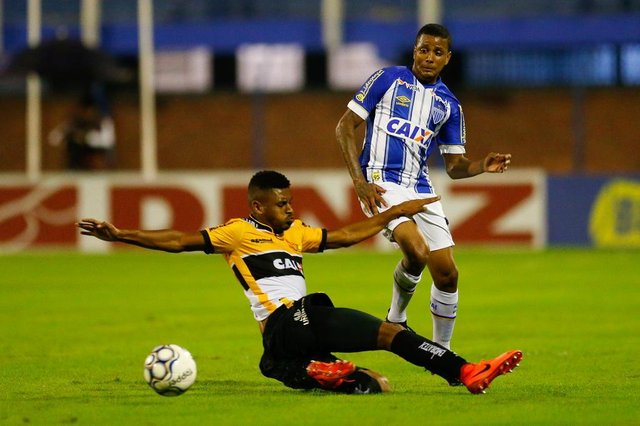 FLORIANÓPOLIS, SC, BRASIL 06/01/2018.ESPORTE: Avaí x Criciúma se enfrentam pela 8ª rodada do Campeonato Brasileira da Série B 2018.