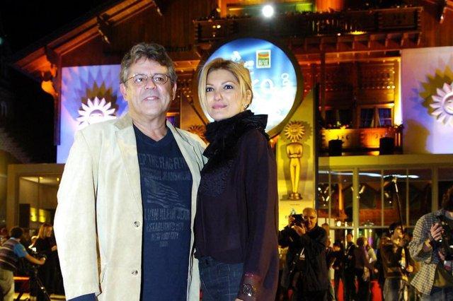 *** J.Botega - Festival/tapete3 ***36¼ Festival de cinema de Gramado.Marcos Paulo e Antonia Fontenelli.
