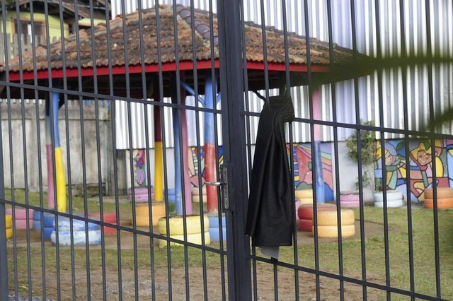 FARROUPILHA, RS, BRASIL, 06/06/2018 -  Escola Municipal de Ensino Fundamental Ilza Molina Martins, onde estudava o menino de cinco anos que morre atropelado, está de luto. (Marcelo Casagrande/Agência RBS)Ele estudava no pré da