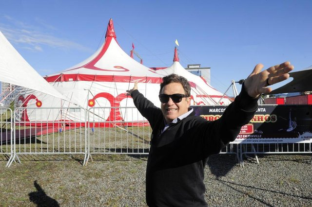 JOINVILLE,SC,BRASIL,06-06-2018.Circo dos Sonhos,com Marcos Frota.(Foto:Salmo Duarte/A Notícia)Indexador: Maykon Lammerhirt