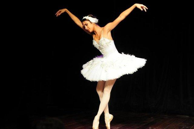 JOINVILLE,SC,BRASIL,23-04-2018.Semana da Dança.Escola de Teatro Bolshoi se apresenta aos aluninhos do SESC, Joinville.(Foto:Salmo Duarte/A Notícia)