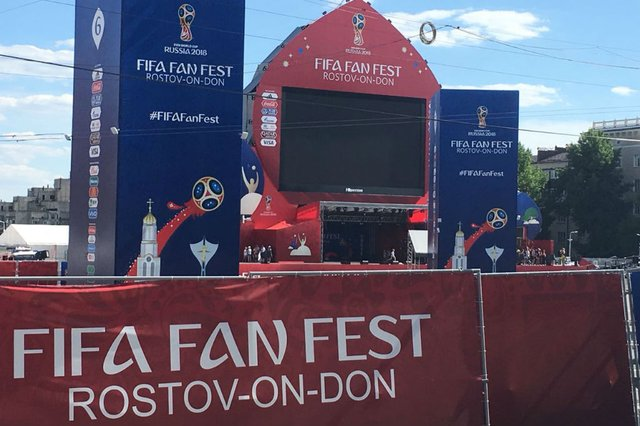 rostov, fan fest, copa do mundo