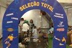 Espaço para troca de figurinhas no Shopping Total (Divulgação/Shopping Total)