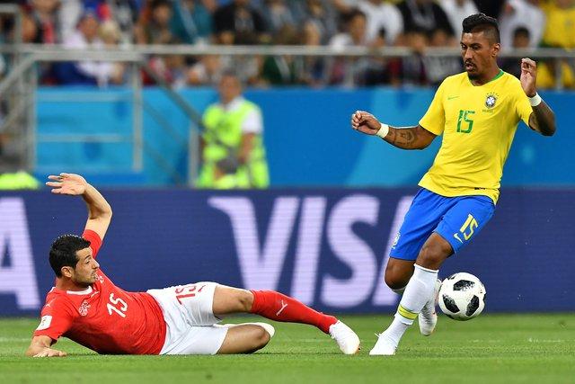Seleção Brasileira, Copa do Mundo 2018, Suíça