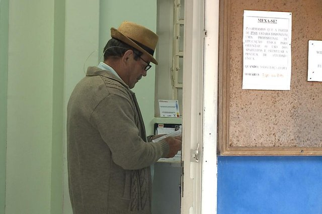 Aposentado não conseguiu retirar medicamentos na UBSF Willy Schossland em Joinville
