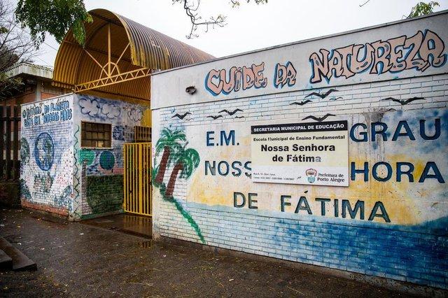 PORTO ALEGRE, RS, BRASIL, 25/06/2018 : Falta de guarda municipal em escolas - EMEF Nossa Senhora de Fátima. (Omar Freitas/Agência RBS)