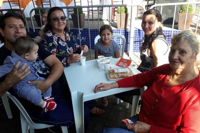JOINVILLE, SANTA CATARINA, BRASIL (07/07/2018): Final do 5º Festival de Cucas de Joinville. Família do Boa Vista acompanha o festival