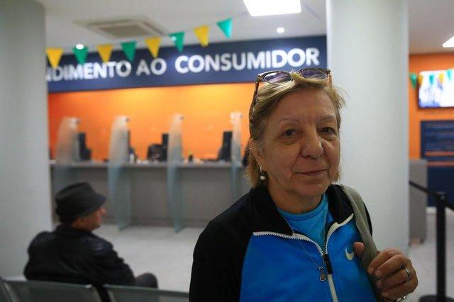 PORTO ALEGRE - RS/BR 12.07.2018Consumidores em divida com o cheque especial.Marilene Duarte, 61.FOTÓGRAFO: TADEU VILANI - AGÊNCIARBS