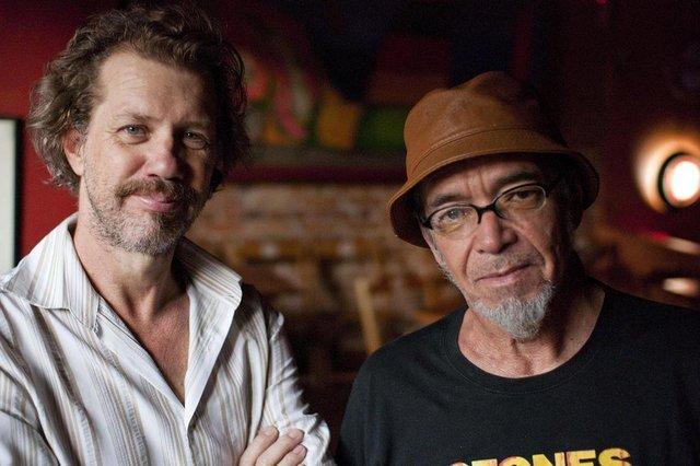 Wander Wildner e Jimi Joe, em foto de Fernanda Chemale