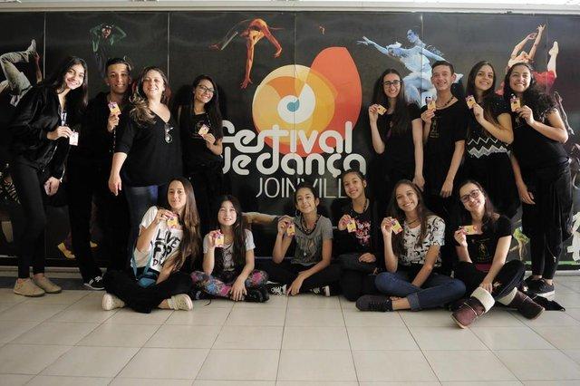 JOINVILLE,SC,BRASIL,16-07-2018.Festival de Dança 2018.Grupos estão chegando na cidade.Ballet Thatiana Orite,SP.(Foto:Salmo Duarte/A Notícia)Indexador: Maykon Lammerhirt