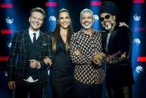 Os times serão comandados por Teló, Ivete, Lulu e Brown (TV Globo/Divulgação/Raquel Cunha)