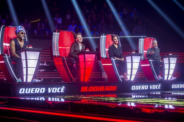 the voice brasil,  Ivete Sangalo, Lulu Santos, Michel Teló, Carlinhos Brown