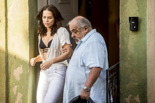 segundo sol, Agenor (Roberto Bonfim) expulsa Rosa (Leticia Colin) de casa