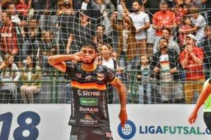 Blumenau Futsal vence Intelli e pula para oitavo lugar na Liga Nacional (Blumenau Futsal/Sidnei Batista)