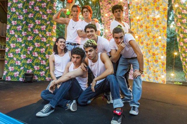 malhação vidas brasileiras, boy band