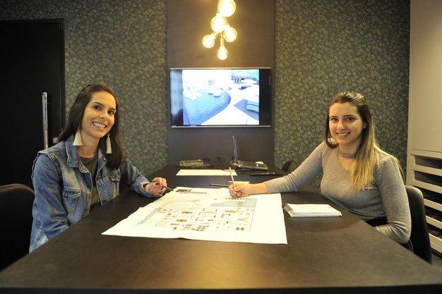 Empreendedoras Maria Otávia Barbieri e Gabriela Nothen Siqueira